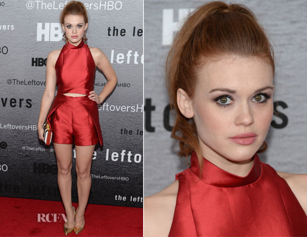 Holland Roden In Paper London - 'The Leftovers' New York Premiere