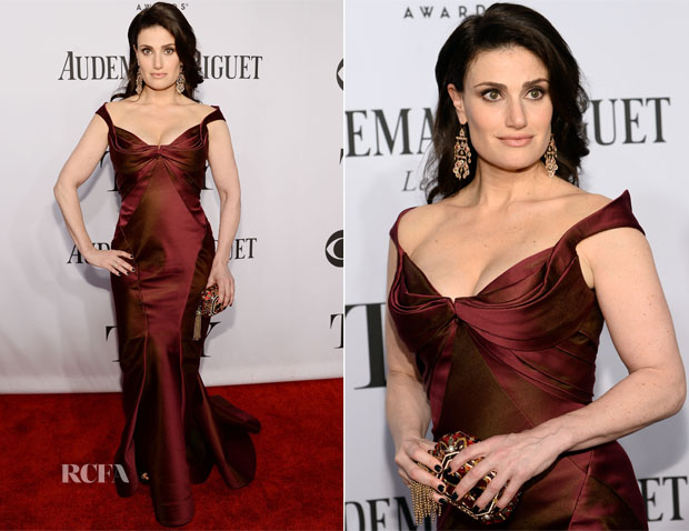 Idina Menzel In Zac Posen - 2014 Tony Awards