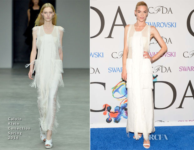 Jaime King In Calvin Klein Collection - 2014 CFDA Fashion Awards