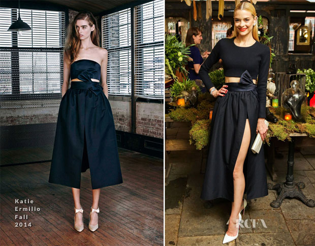 Jaime King In Katie Ermilio - Christian Louboutin Cocktail Party