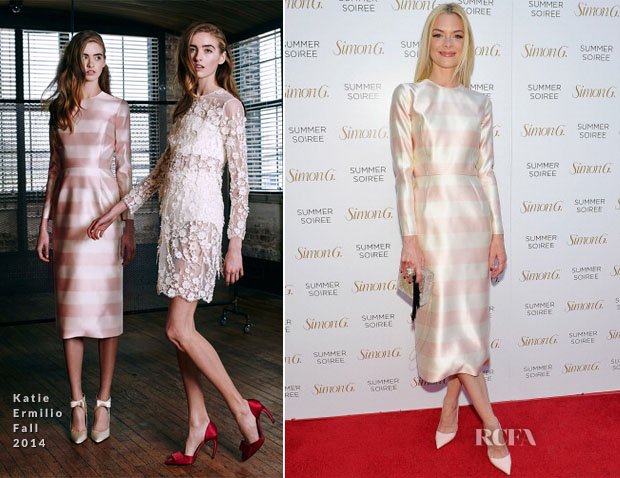 Jaime King In Katie Ermilio - Simon G Soiree