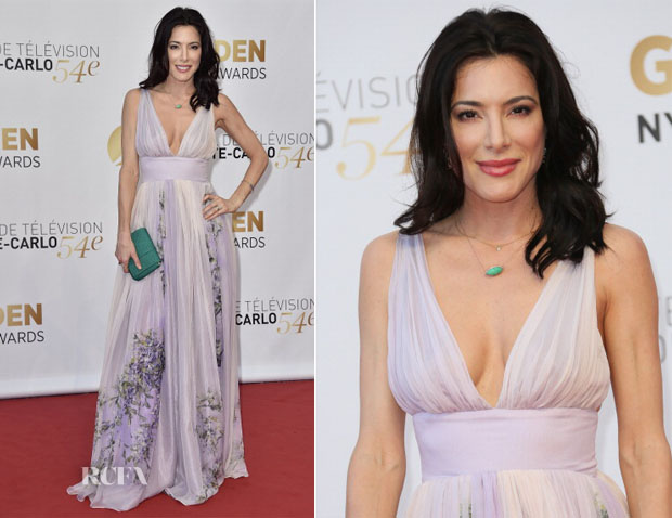 Jaime Murray In  Alexa von Canisius - 54th Monte Carlo Television Festival Closing Ceremony