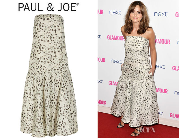 Jenna Coleman's Paul & Joe 'Frivole' Printed Silk-Blend Dress