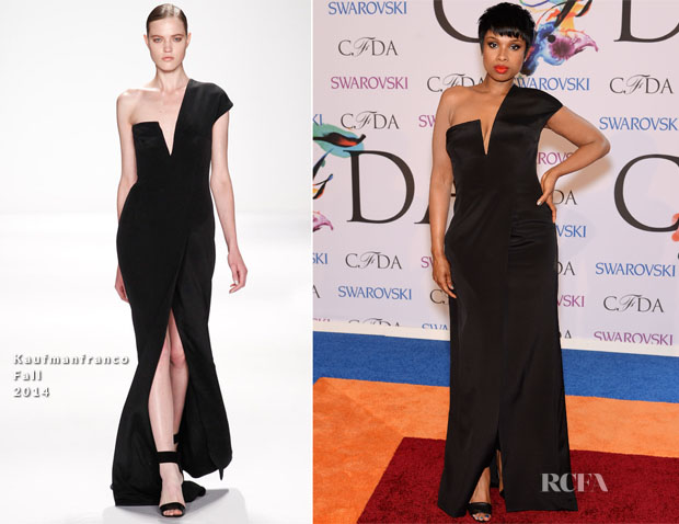 Jennifer Hudson In Kaufmanfranco - 2014 CFDA Fashion Awards