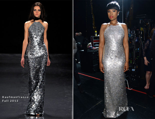 Jennifer Hudson In Kaufmanfranco - 2014 Tony Awards