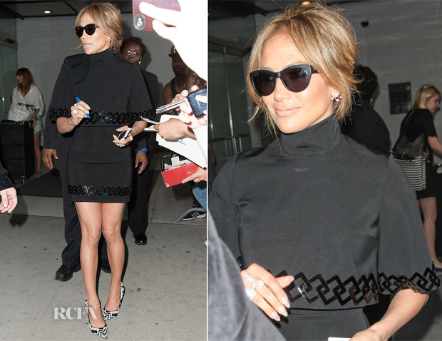 Jennifer Lopez In David Koma - 106 & Park