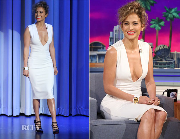 Jennifer Lopez In Solace London - The Tonight Show Starring Jimmy Fallon