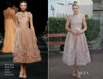 Jennifer Morrison In Georges Hobeika Couture - Monaco Palace Cocktail Reception