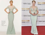 Jennifer Morrison In Georges Hobeika Signature - 54th Monte Carlo Television Festival Closing Ceremony