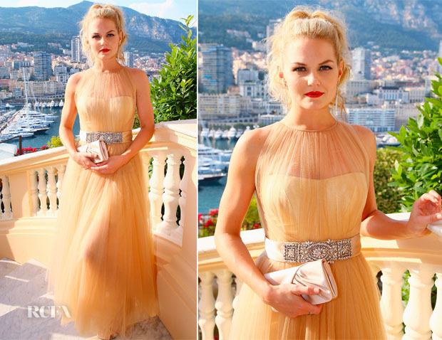 Jennifer Morrison In Romona Keveza -  Ministere d'Etat Cocktail Reception