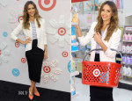 Jessica Alba In Rebecca Minkoff - The Honest Company at Target Launch
