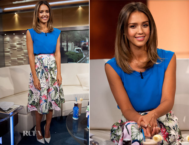 Jessica Alba In Topshop - FOX & Friends