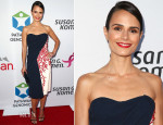 Jordana Brewster In Carolina Herrera - Pathway To The Cures For Breast Cancer Fundraiser