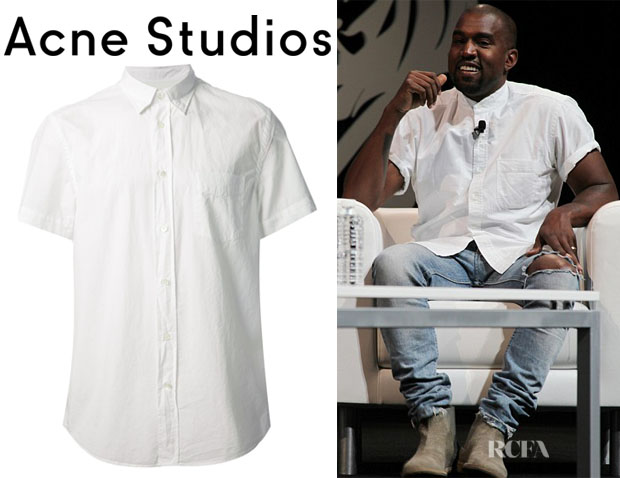 Kanye West's Acne Studios 'Isherwood Pop' Shirt1