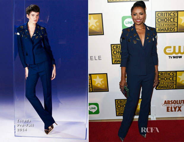 Kat Graham In Escada - 2014 Critics' Choice Television Awards