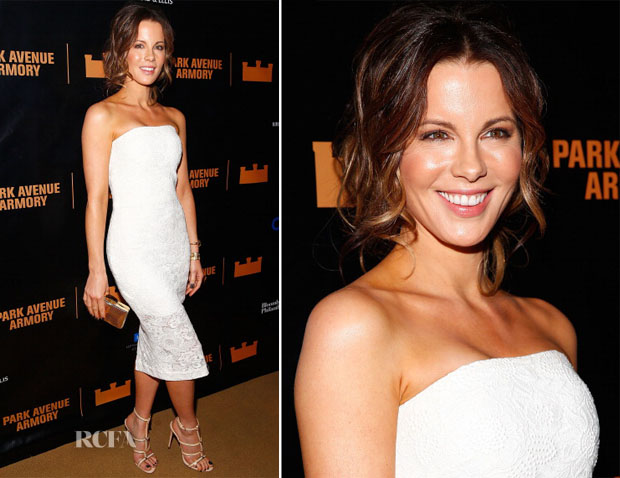 Kate Beckinsale In Monique Lhuillier - 'Macbeth' Opening Night