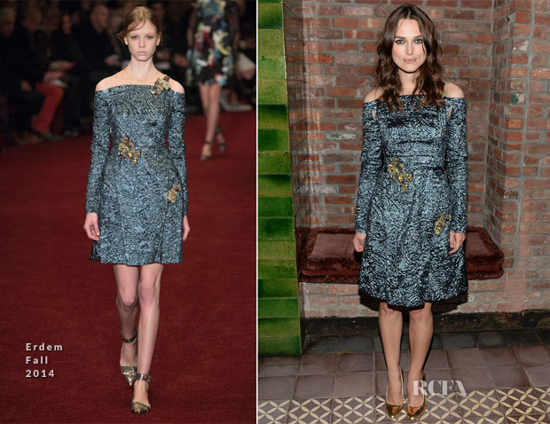 Keira Knightley In Erdem - 'Begin Again' New York Premiere After-Party