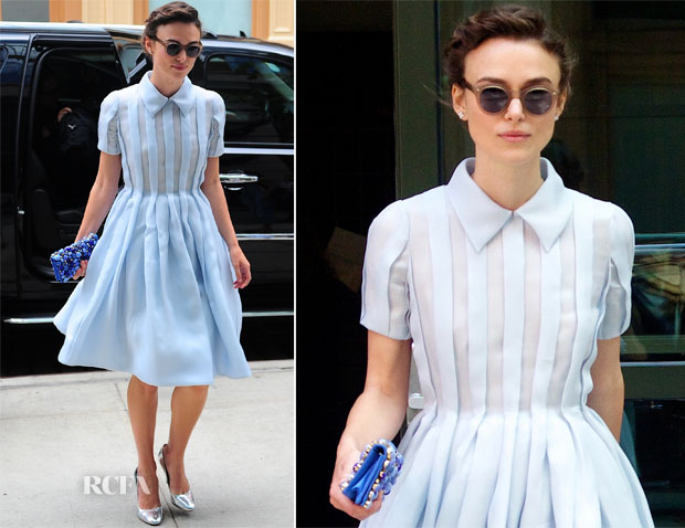 Keira Knightley In Prada - Out In New York City