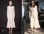 Keira Knightley In Valentino - The Daily Show With Jon Stewart