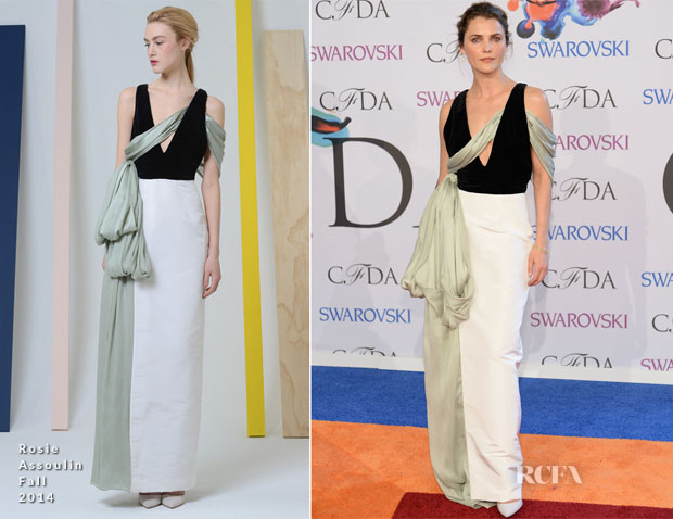 Keri Russell In Rosie Assoulin - 2014 CFDA Fashion Awards