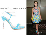Kiernan Shipka's Sophia Webster 'Nicky 3' Sandals