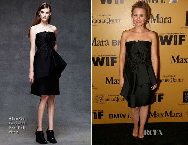 Kristen Bell In Alberta Ferretti - Women In Film 2014 Crystal + Lucy Awards