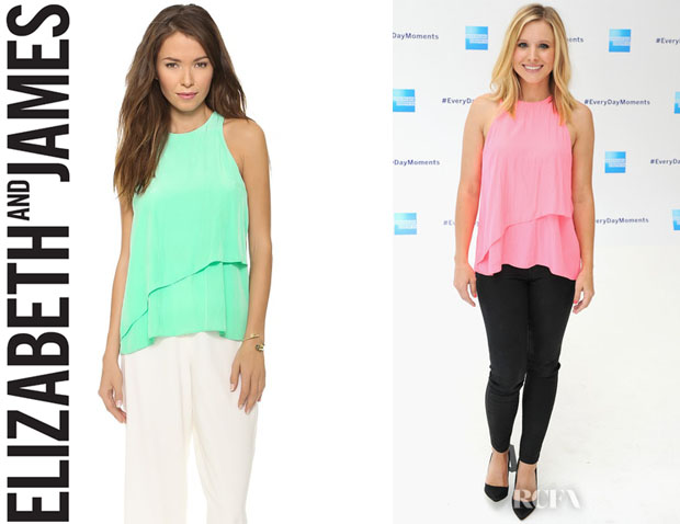 Kristen Bell's Elizabeth and James 'Cheridah' Top