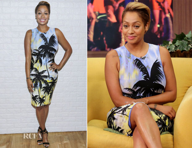 LaLa Anthony In Fausto Puglisi - Despierta America
