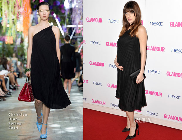 Lake Bell In Christian Dior - Glamour Women Of The Year Awards