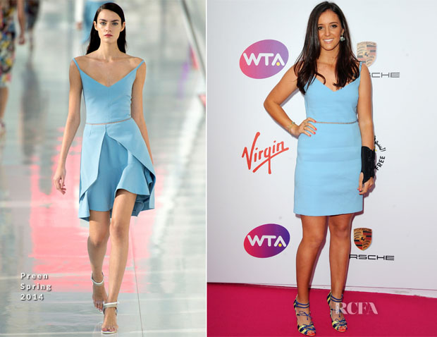 Laura Robson In Preen - WTA Pre-Wimbledon Party
