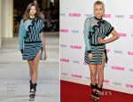 Laura Whitmore In Emanuel Ungaro - Glamour Women Of The Year Awards