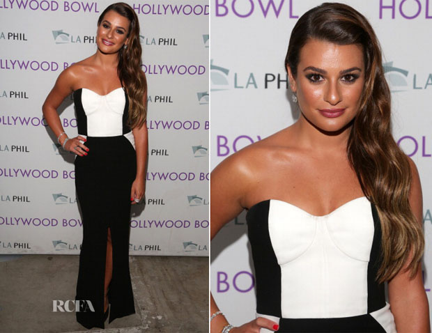 Lea Michele In Paule Ka - Hollywood Bowl Opening Night