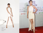 Li Bingbing In Sass & Bide - 'Transformers : Age Of Extinction' Shanghai Photocall
