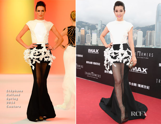 Li Bingbing In Stéphane Rolland Couture - 'Transformers Age of Extinction' World Premiere