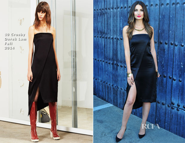Lily Aldridge In 10 Crosby Derek Lam - Spike TV's 'Guys Choice 2014'