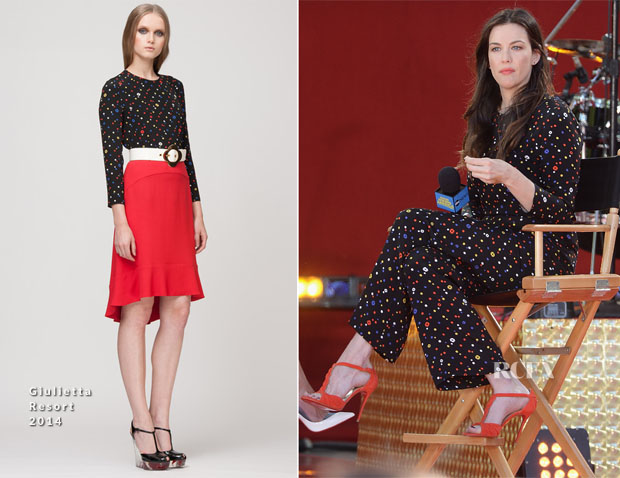 Liv Tyler In Giulietta - Good Morning America