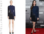 Liv Tyler's Stella McCartney Fringed Stretch Cady Dress