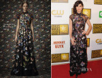 Lizzy Caplan In Valentino - 2014 Critics' Choice Television Awards