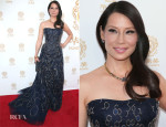 Lucy Liu In Carolina Herrera - 2014 Huading Film Awards