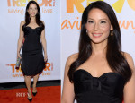 Lucy Liu In Carolina Herrera - Trevor Project's 2014 'TrevorLIVE NY' Event