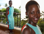 Lupita Nyong'o In Calvin Klein Collection - 2014 Maui Film Festival