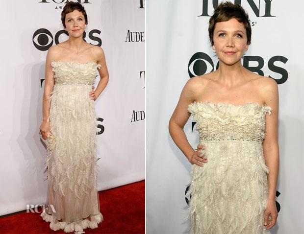 Maggie Gyllenhaal In Dolce & Gabbana - 2014 Tony Awards