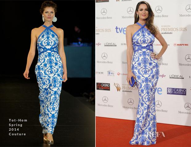 Mar Saura In Tot-Hom Couture - Iris Awards
