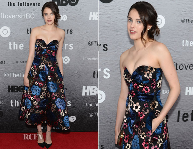 Margaret Qualley In Rochas - 'The Leftovers' New York Premiere