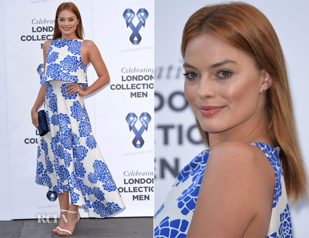 Margot Robbie In Vionnet - One For The Boys Charity Ball