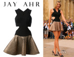 Maria Sharapova's Jay Ahr Two-Tone Dress