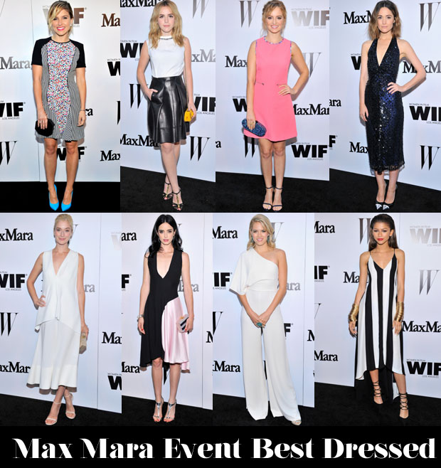 Max Mara Event Best Dressed