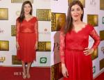 Mayim Bialik In Tadashi Shoji - 2014 Critics' Choice Television Awards