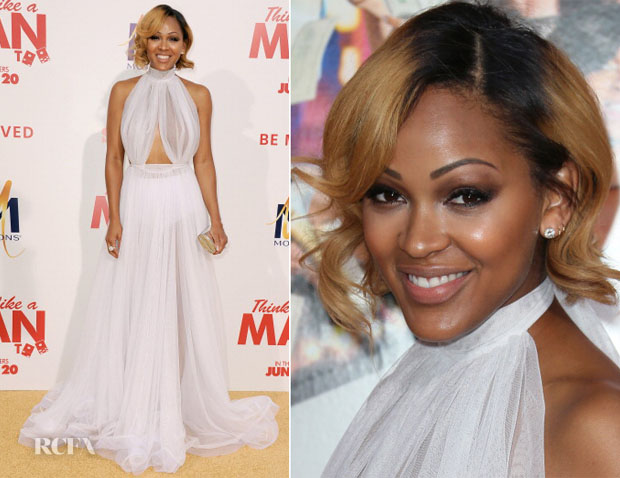 Meagan Good In Michael Costello - 'Think Like A Man Too' LA Premiere