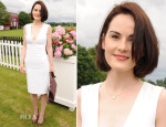 Michelle Dockery In Antonio Berardi - Cartier Queen's Cup Final
